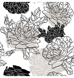 lovely seamless pattern vector image