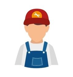 Mechanic man repairman vector