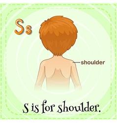 Shoulder vector