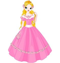 Fairytale princess vector image vector image