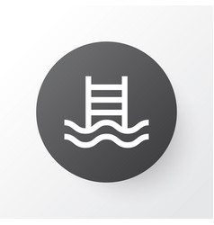 swimming pool icon symbol premium quality vector image