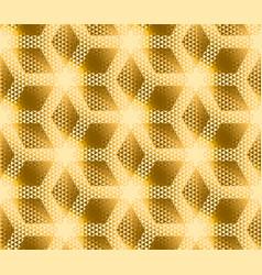Elegant modern creative geometry background gold vector