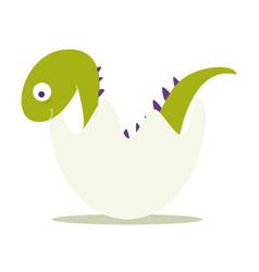 Baby dinosaur vector