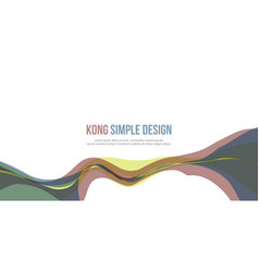 Banner header website abstract modern design vector