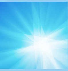 blue rays crystal texture background vector image