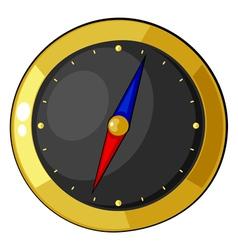 Cartoon compass eps10 vector image