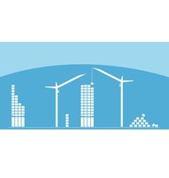 Construction city vector image
