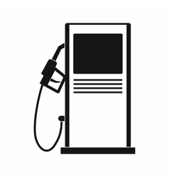 Gas station icon simple style vector image