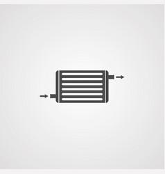 Intercooler icon sign symbol vector