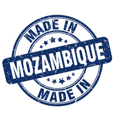 made in mozambique vector image