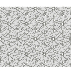 Monochrome texture with triangles vector image