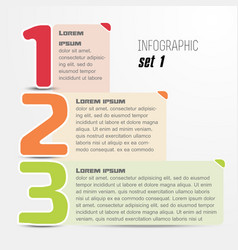 Options web design infographic trendy style vector