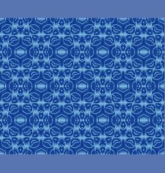 Original patterned textile texture indigo dyed vector