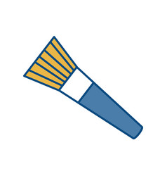 Paint brush icon vector