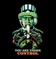 Under control copy 2 vector