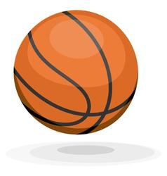Cartoon basketball ips10 vector image vector image