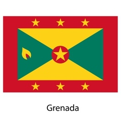 Flag of the country grenada vector image vector image