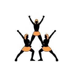Cheerleading-Team-380x400 vector image vector image