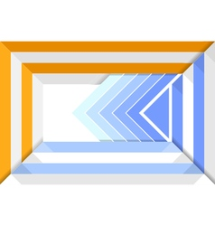 Abstract square template layout vector image