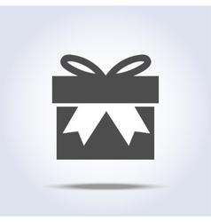 Icon of present box vector