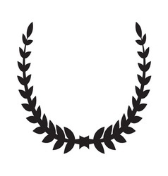 Laurel Wreath icon2 vector image