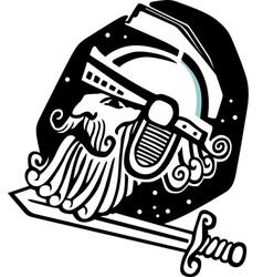 Mars god of war vector