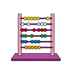 School abacus education and school element math vector