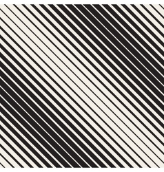 Seamless Black and White Halftone Diagonal vector image