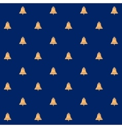 Seamless Pattern with Bell vector image