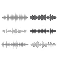 Sound waves Music Digital Equalizer vector