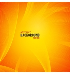 Abstract yellow and orange background vector