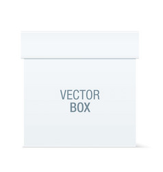 white box vector image
