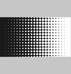 halftone pattern background round spot shapes vector image vector image
