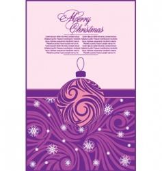 abstract Christmas vector image