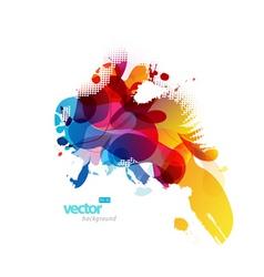 abstract splash vector image