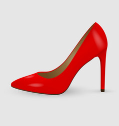 realistic women shoes vector image