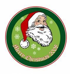 Santa 2008 vector