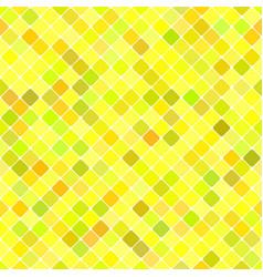 yellow seamless diagonal square pattern vector image
