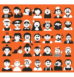People and age vector