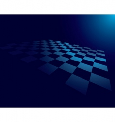 abstract checked board vector image