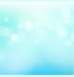 blur blue abstract image with shining lights vector image
