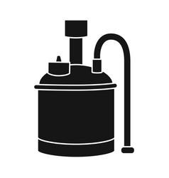 Design beer and machine symbol web vector