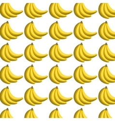 Fresh fruit pattern background vector