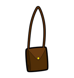 Purse fashion isolated vector