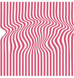 rede striped backdrop zebra top distortion wave vector image