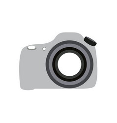 isolated camera icon vector image vector image