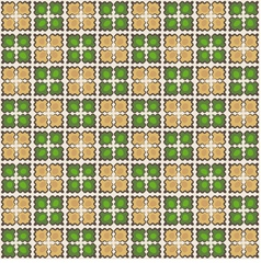 seamless tiled pattern Wallpaper background vector image vector image