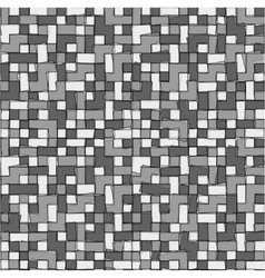 Abstract grayscale pixel background seamless vector image vector image