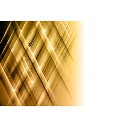 abstract lines gold cross vector image