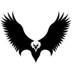 american eagle isolated vector image
